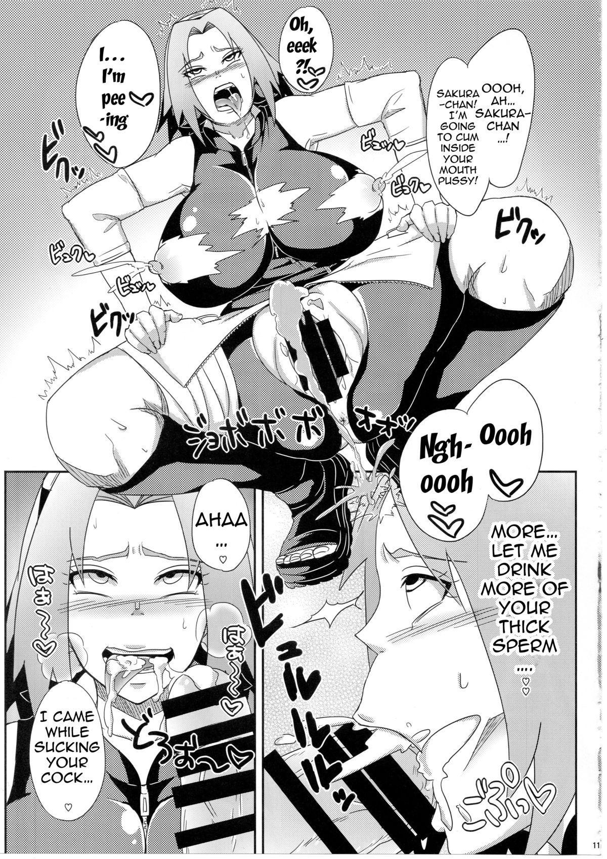 Konoha no Bitch-chan! | Konoha's Bitches! 9
