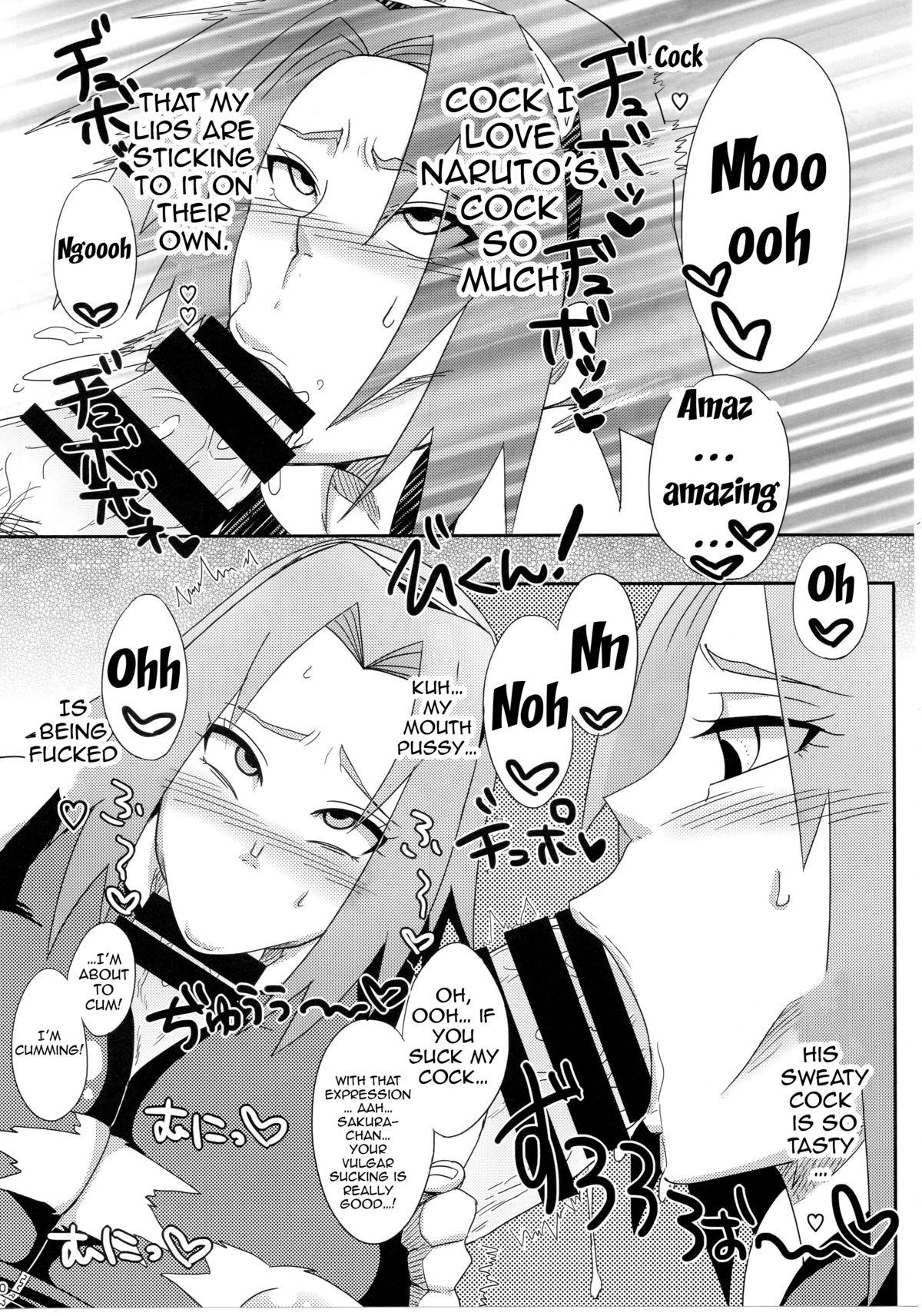 Konoha no Bitch-chan! | Konoha's Bitches! 8