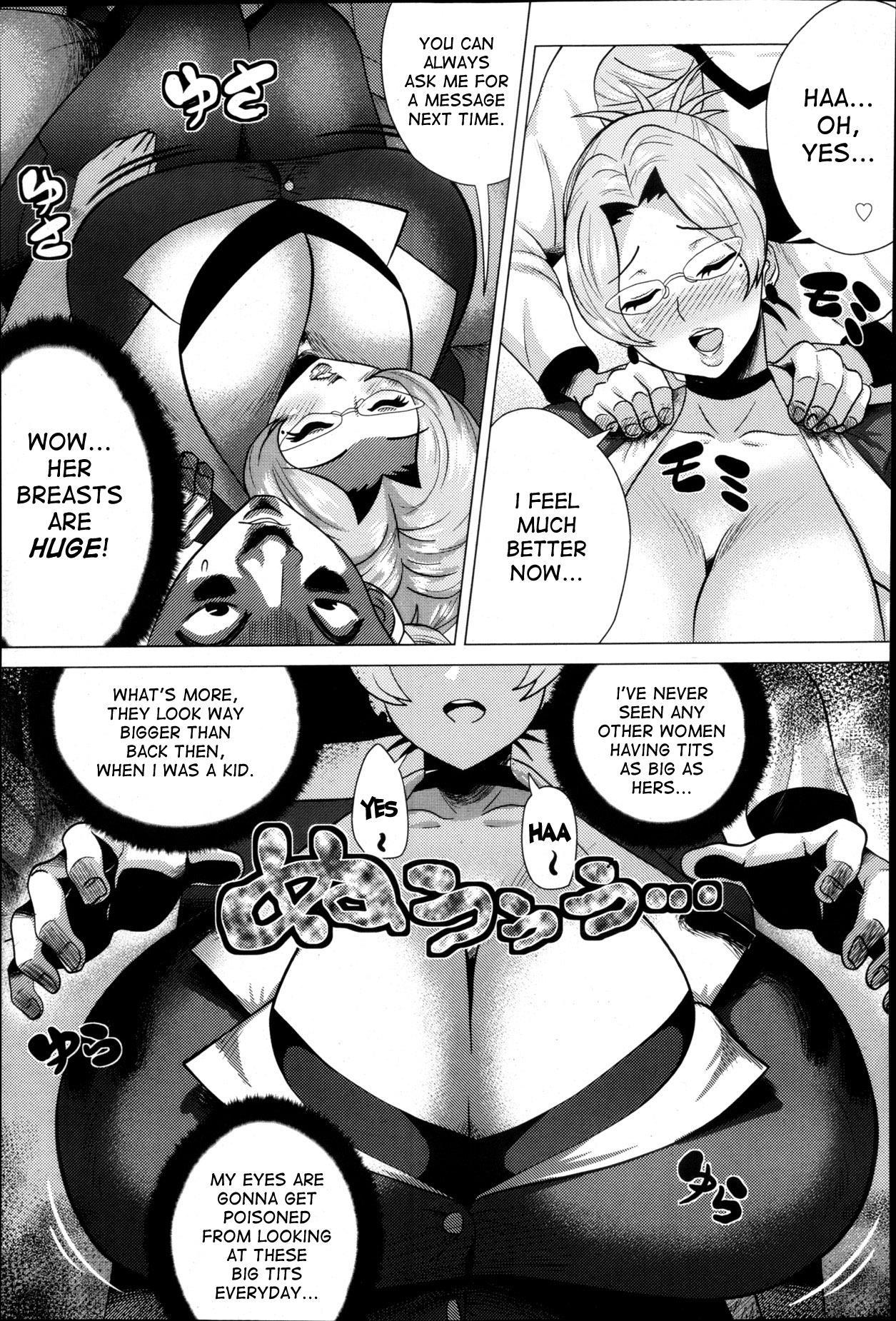 [Yokkora] Megabody Night ~Watashi no Oniku wo Meshiagare~ | Megabody Night ~My voluptuous body & mom love~ [English] {Laruffi + desudesu + EHCOVE} 93