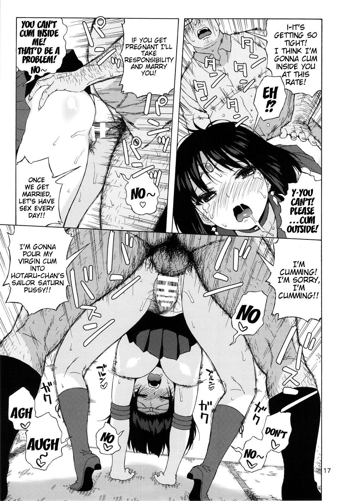 (C86) [666Protect (Jingrock)] JK no Hotaru-chan to Kekkon suru Houhou | A Method to Marry Hotaru-chan the JK (Bishoujo Senshi Sailor Moon) [English] {doujin-moe.us} 15