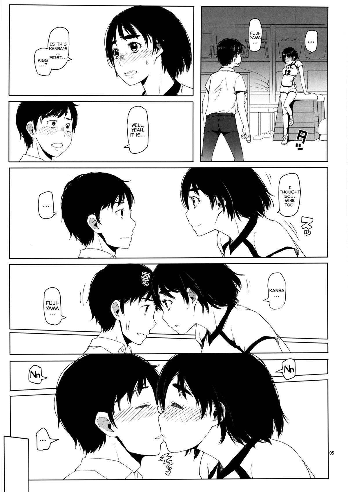(C86) [Asaki Blog Branch Office (Asaki Takayuki)] Fujiyama-san no Hatsujouki | Fujiyama-san's Mating Season (Fujiyama-san wa Shishunki) [English] [YQII] 4