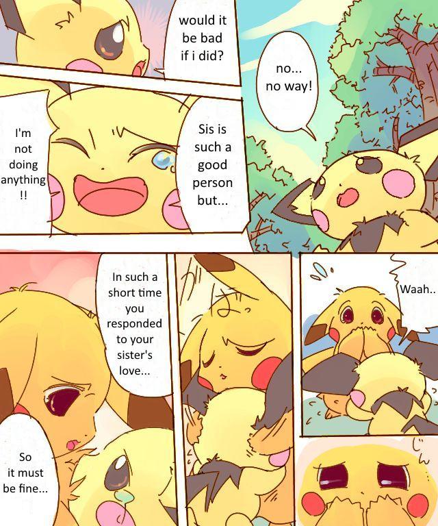 Pikachu Kiss Pichu 3