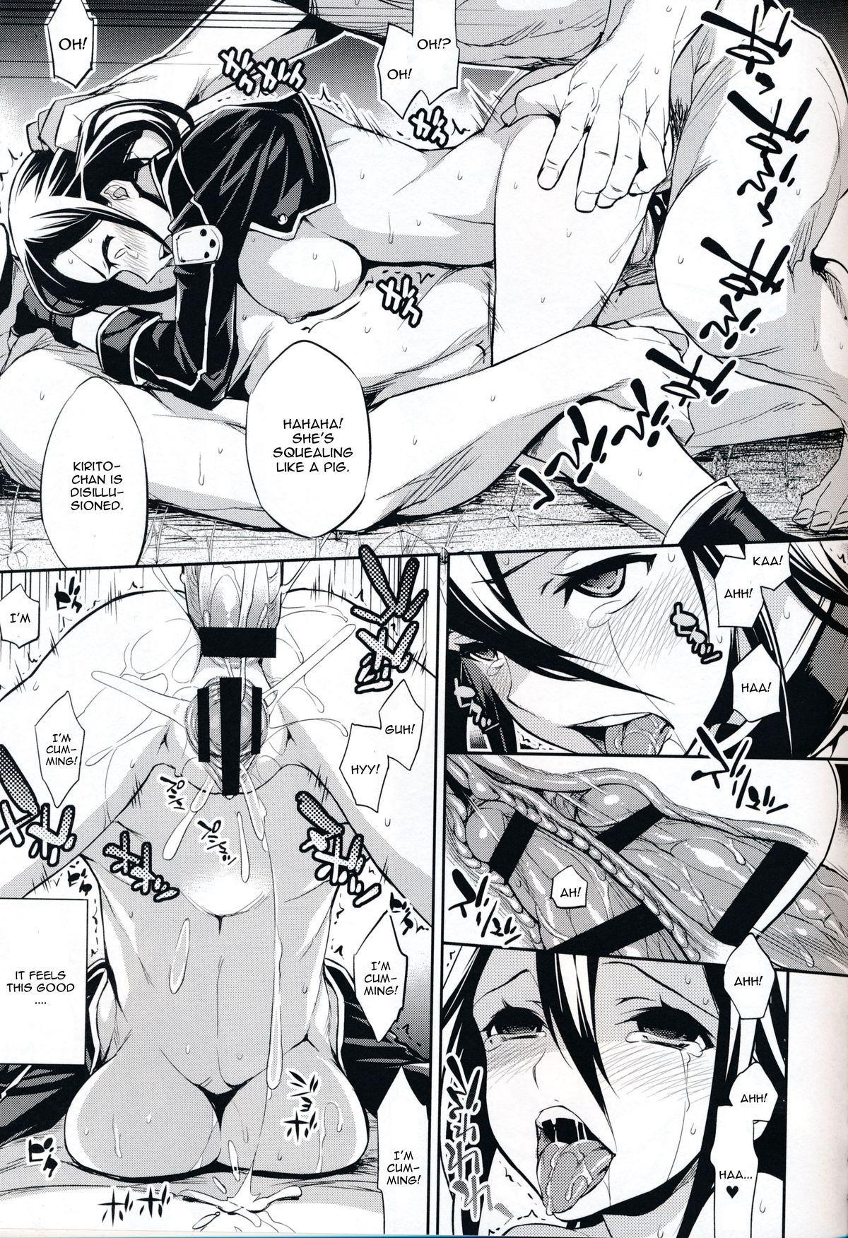 (SC65) [Crazy9 (Ichitaka)] C9-14 TS~Kirito-chan no Avatar wa Random Nyotai (Sword Art Online) [English] {CGrascal} 13