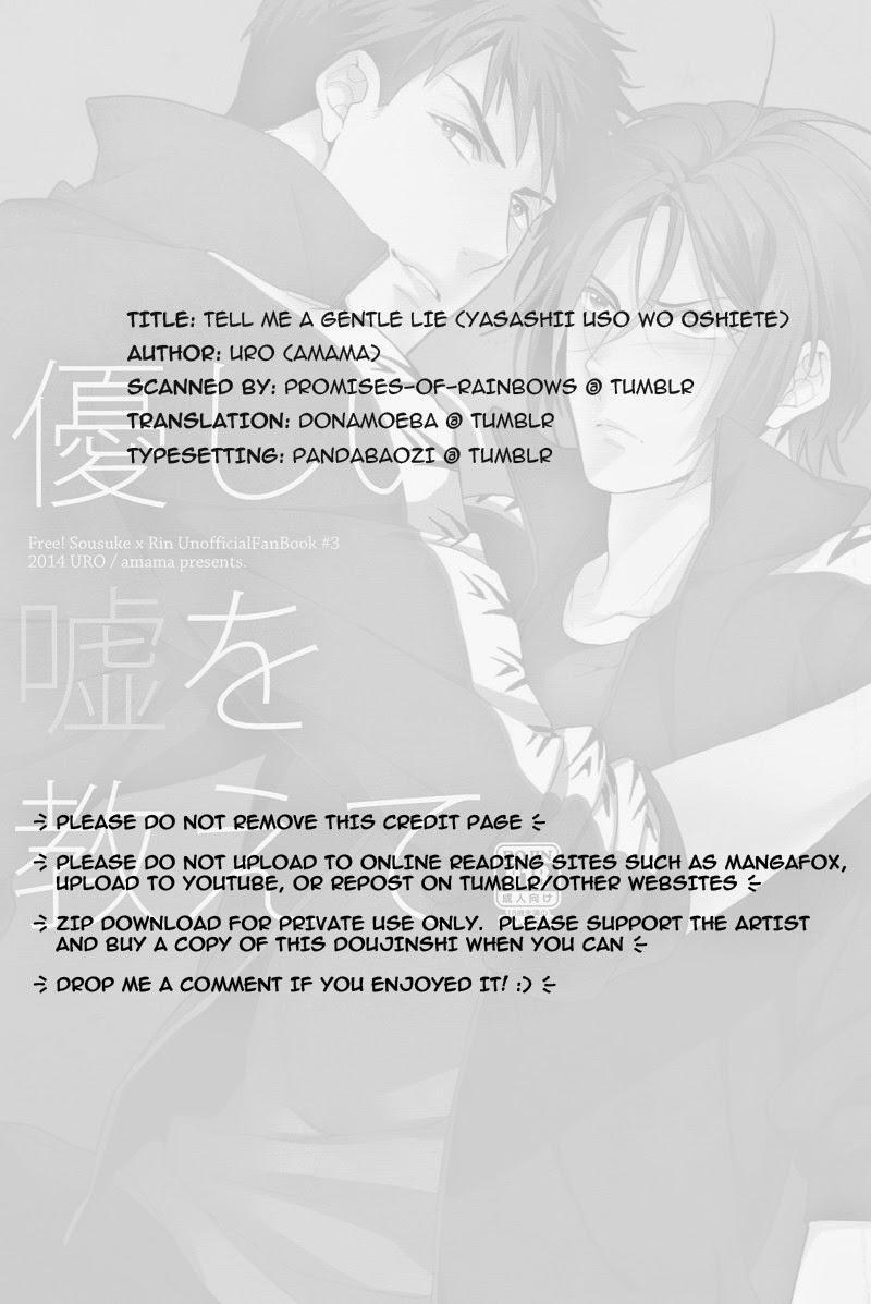 Yasashii Uso o Oshiete | Tell me a gentle lie 16