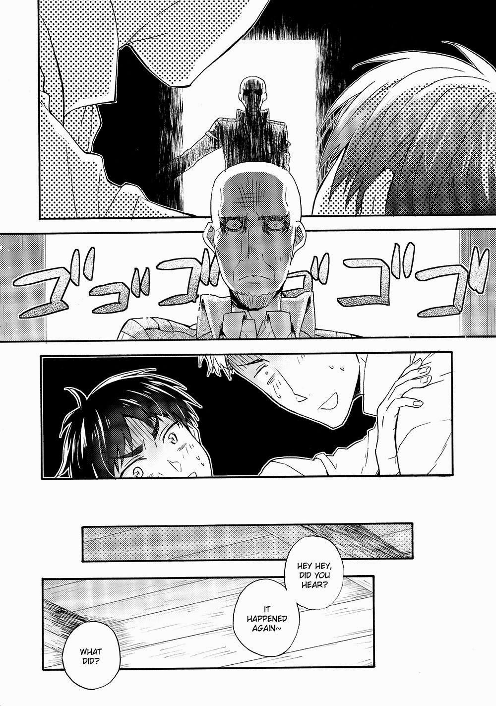 [dg (Doguu)] Ore-tachi Tsukiattemasun. - Kouhen – Shita – (Shingeki no Kyojin) [English] [Moy Moe Scanlations] 18