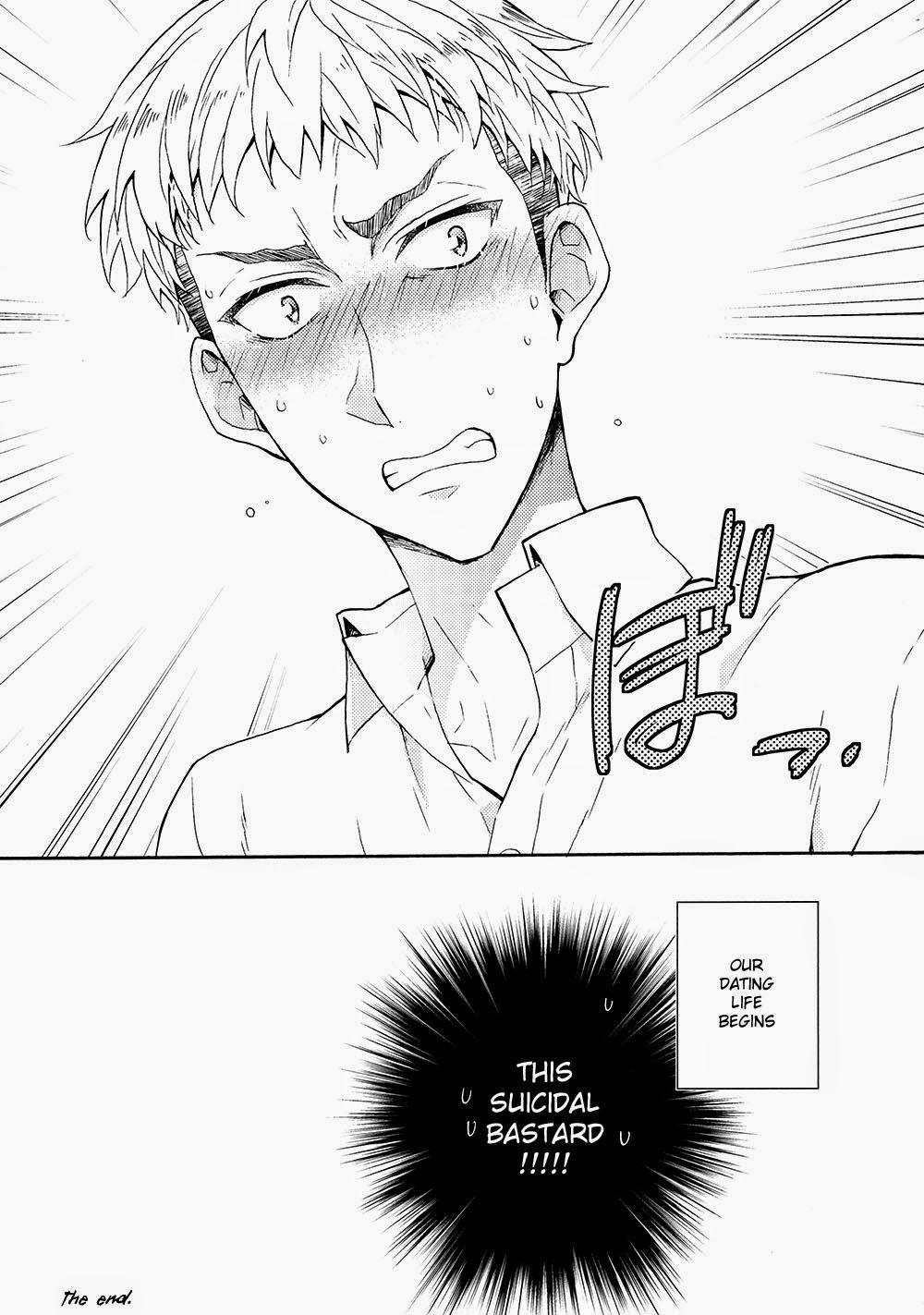 [dg (Doguu)] Ore-tachi Tsukiattemasun. - Kouhen – Shita – (Shingeki no Kyojin) [English] [Moy Moe Scanlations] 30