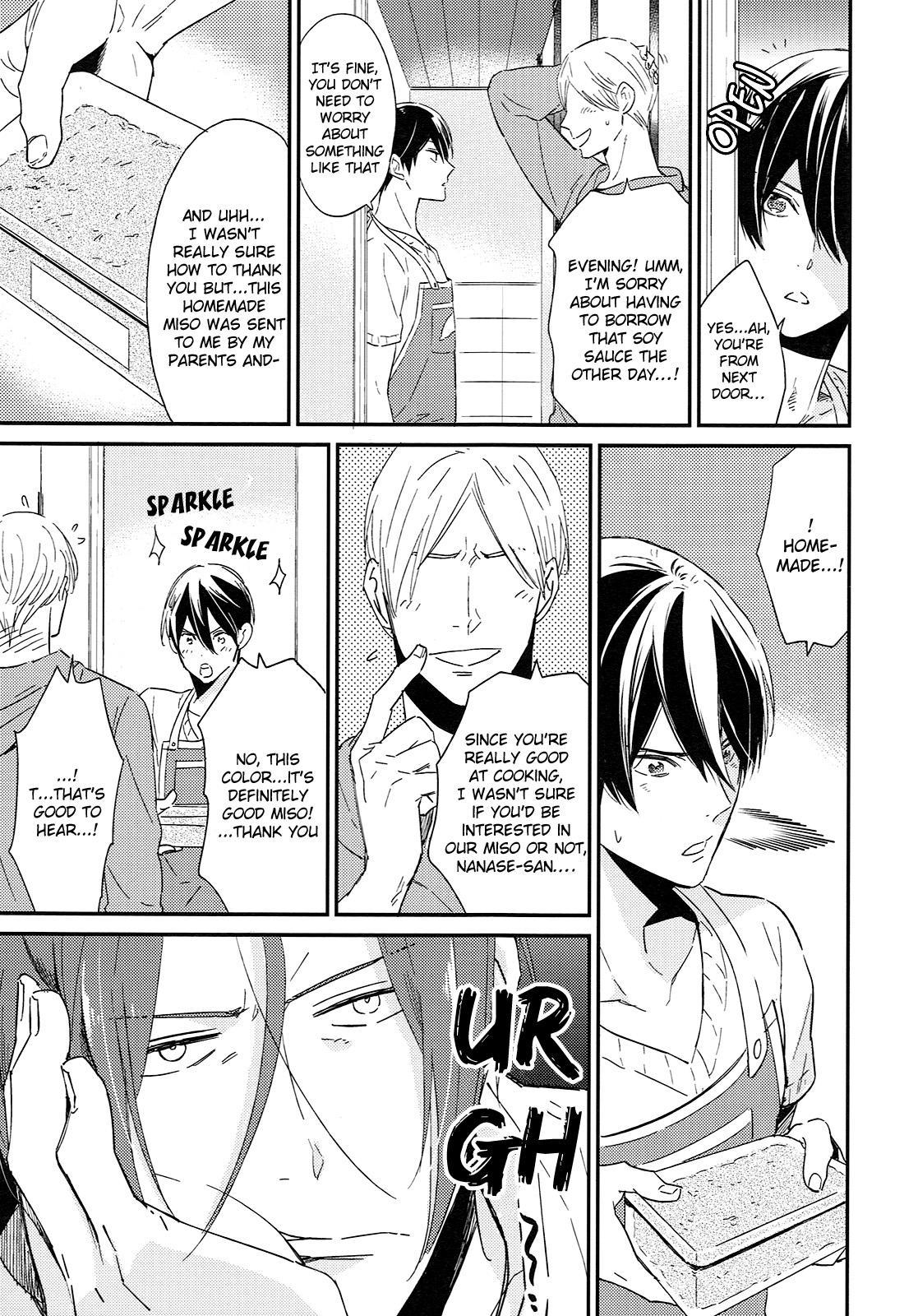 (SUPER24) [KANGAROO KICK (Takagi Takumi)] Matsuoka Rin no Shinkon Seikatsu (Kari) | Matsuoka Rin's Newly-Wed Life (Provisional) (Free!) [English] [Holy Mackerel] 7