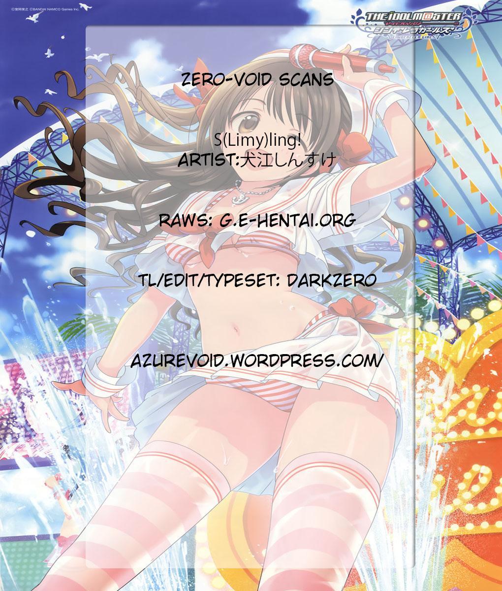 (C89) [Jingai Makyou (Inue Shinsuke)] S(Limy)ing! (THE iDOLM@STER CINDERELLA GIRLS) [English] [ZERO-VOID] 31