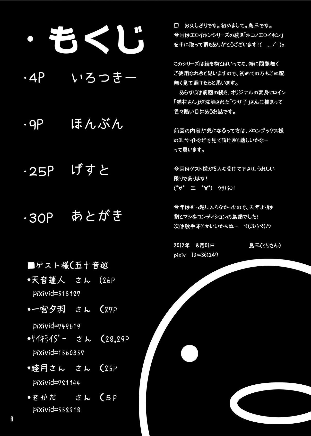 Neko no Eroi Hon 6