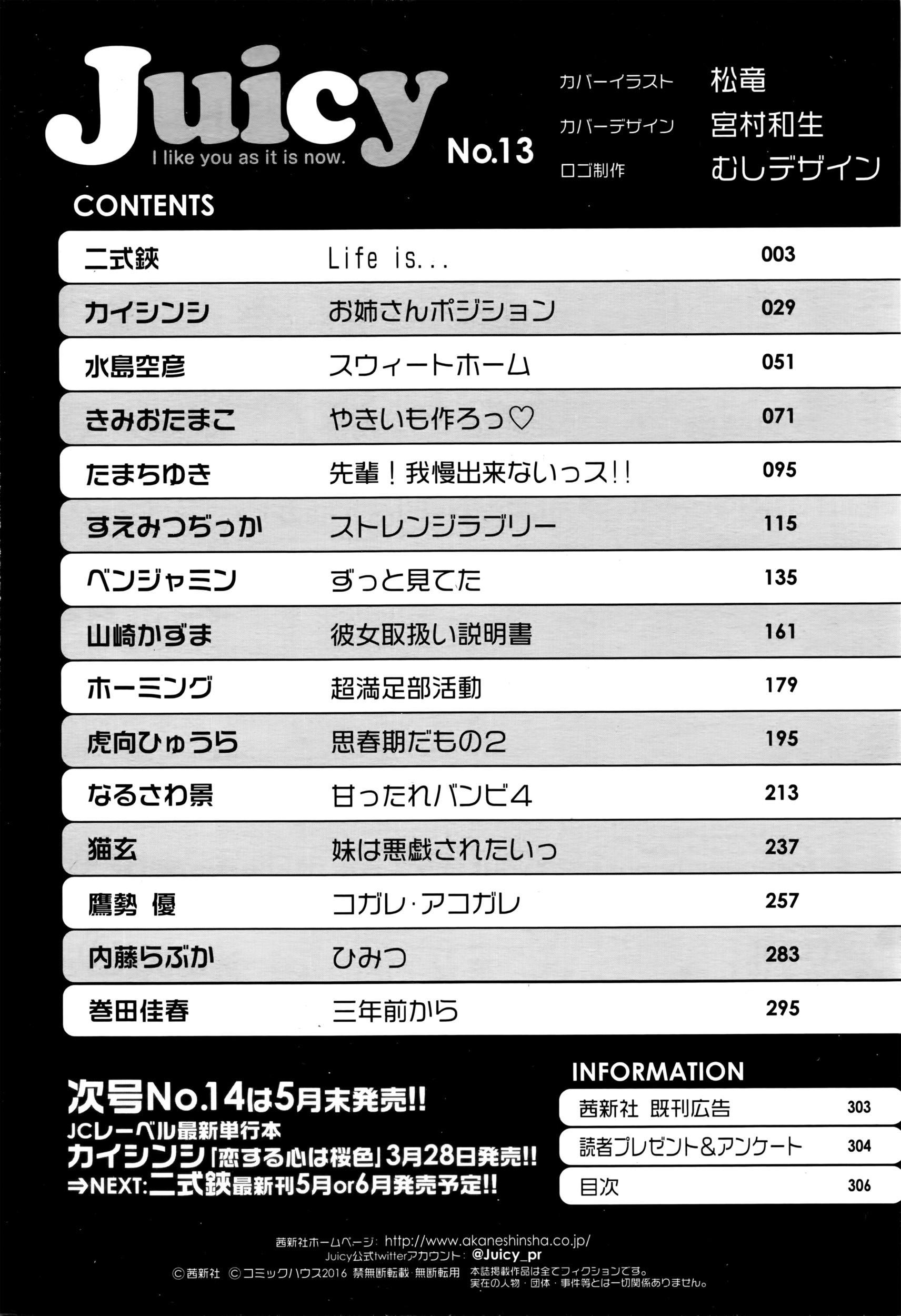 Juicy No. 13 2016-04 306