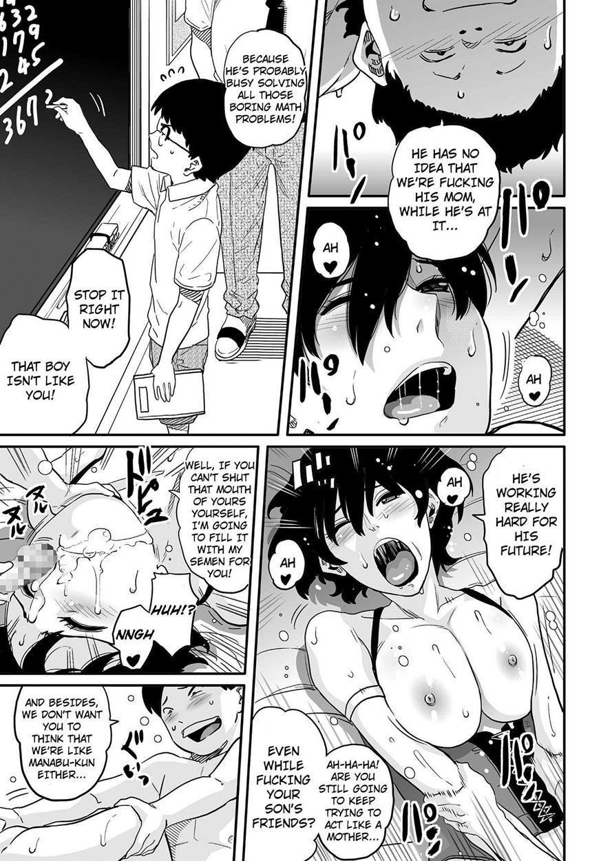 [Hana Hook] Hahaoya Shikkaku - Elite Oyako no M Buta Netorare Tenraku Jinsei & Epilogue Oyako-hen [English/Completed] 246
