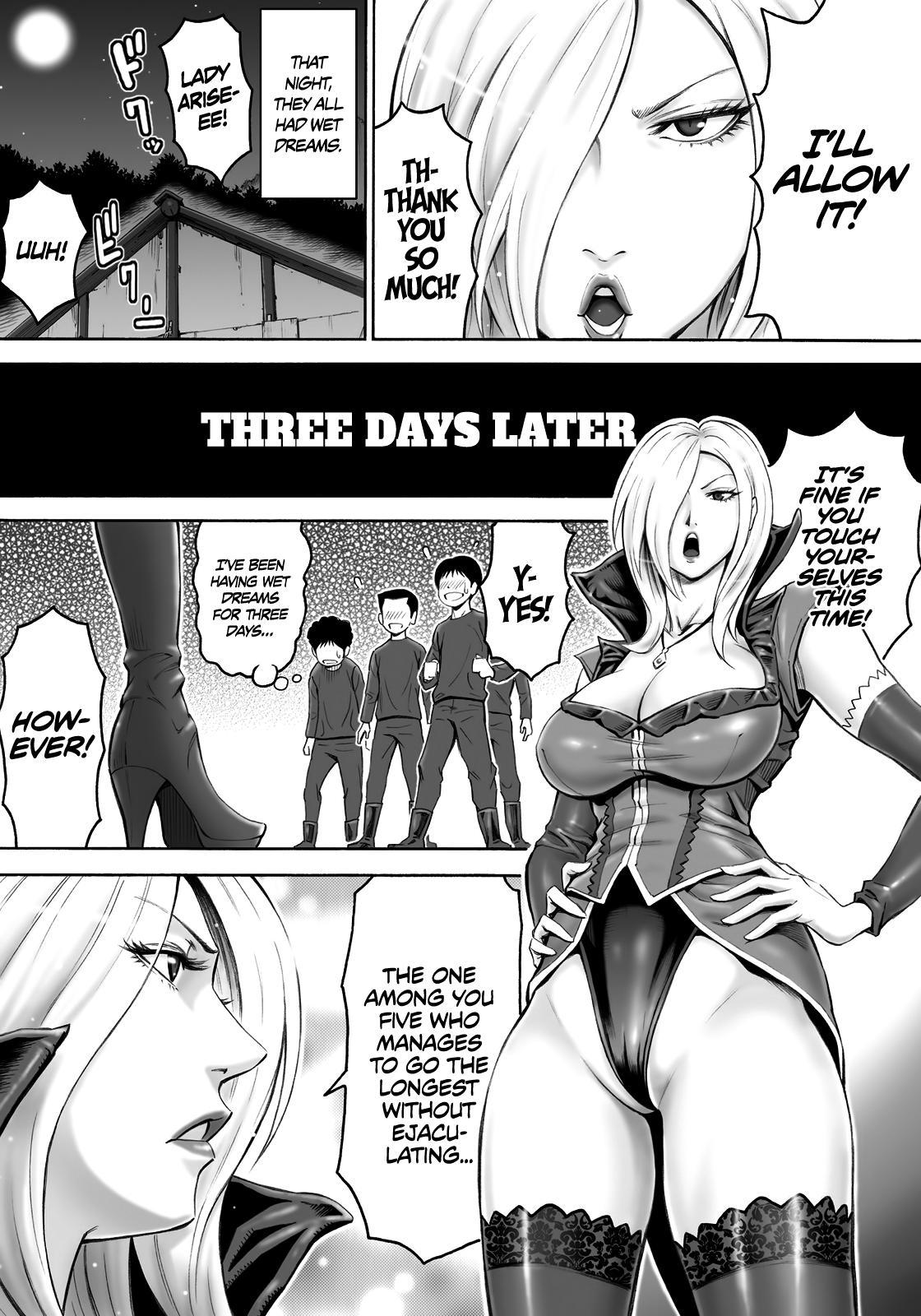 Aku no Onna Shuryou to Doutei Kouseiin | Evil Leader and the Virgin Members 12