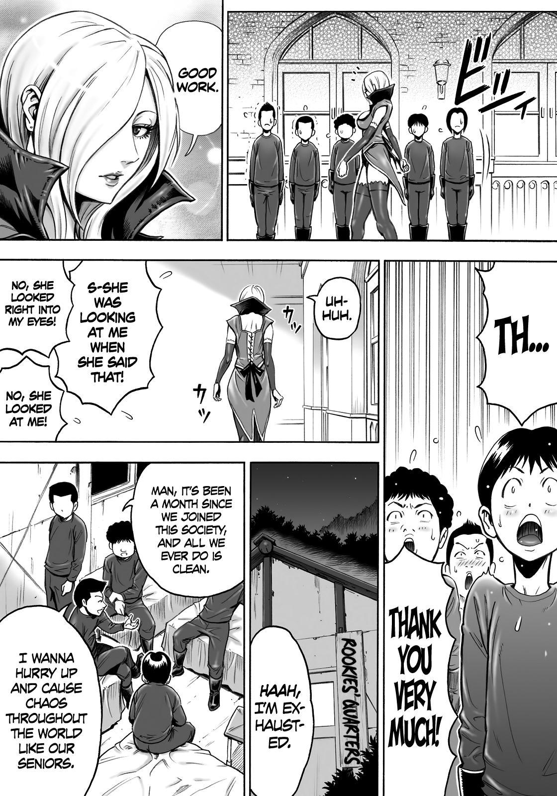 Aku no Onna Shuryou to Doutei Kouseiin | Evil Leader and the Virgin Members 3