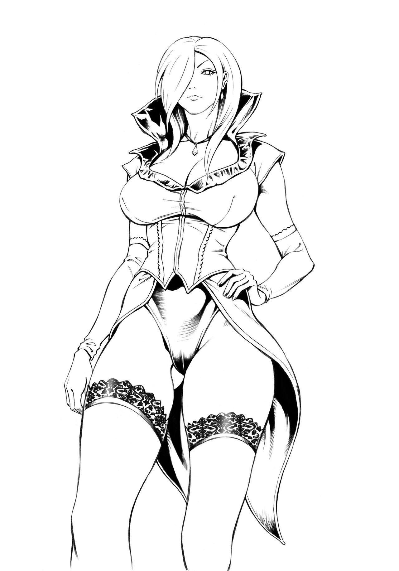 Aku no Onna Shuryou to Doutei Kouseiin | Evil Leader and the Virgin Members 51