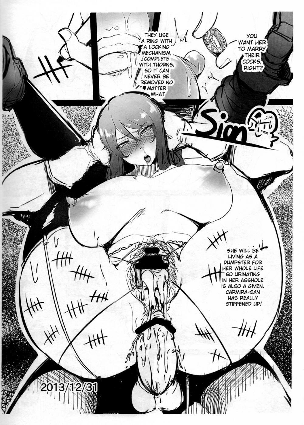 Karina to Shironatsume 21