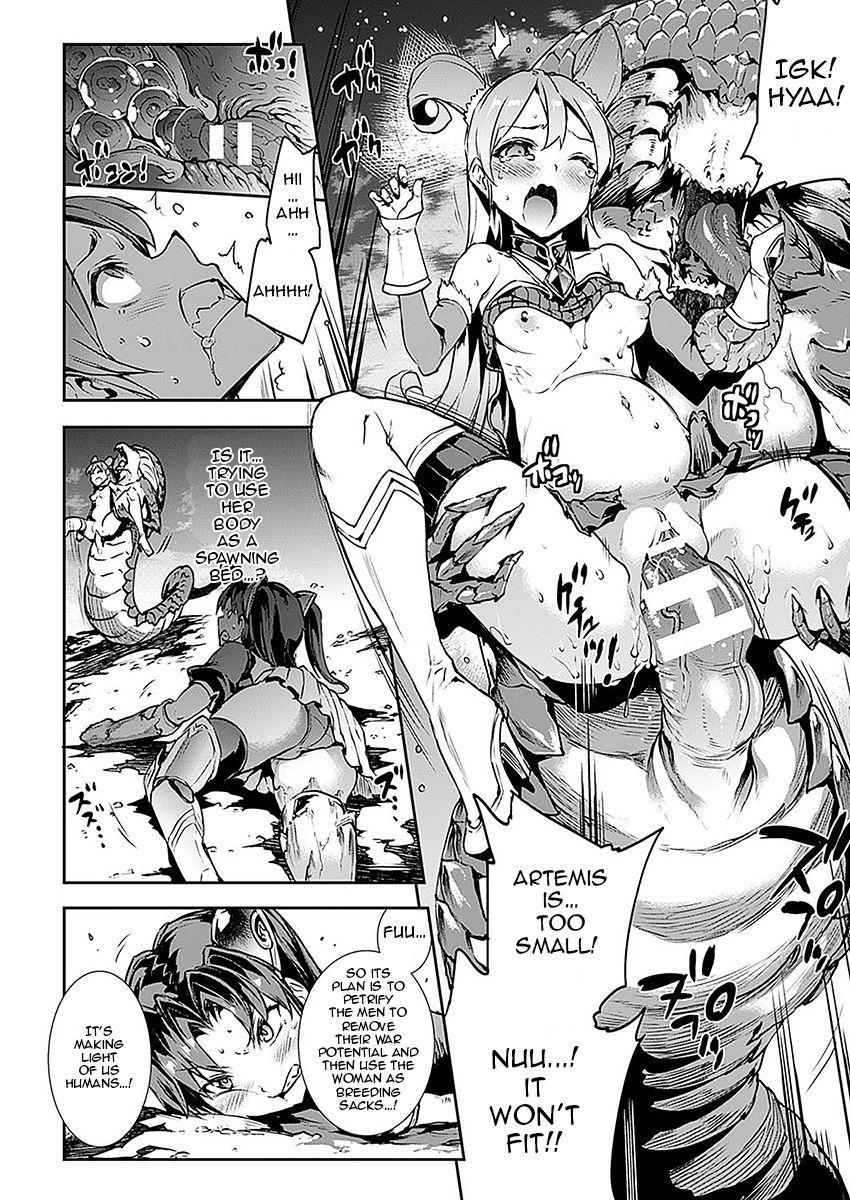 [Erect Sawaru] Raikou Shinki Aigis Magia - PANDRA saga 3rd ignition - Part 1 - Biribiri Seitokaicho (COMIC Unreal 2016-10 Vol. 63) [English] [Jormangander] 13
