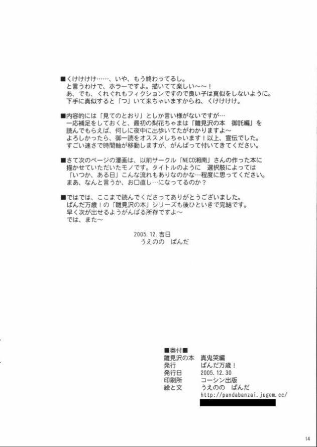 Hinamisawa no hon - Shin Kikoku hen 13