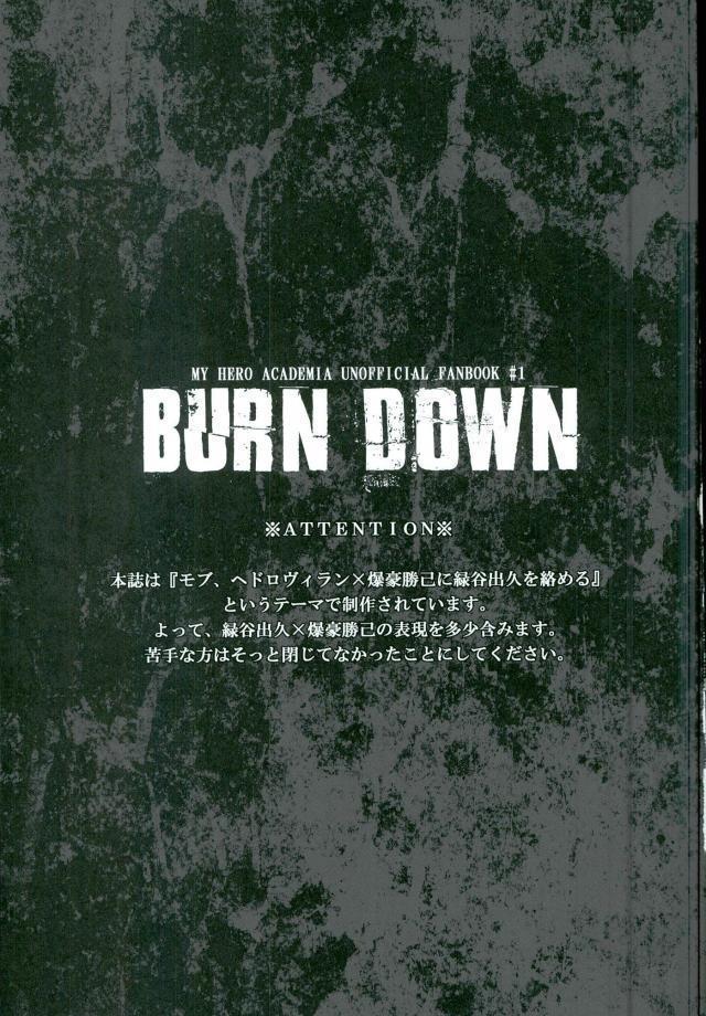 BURN DOWN 1