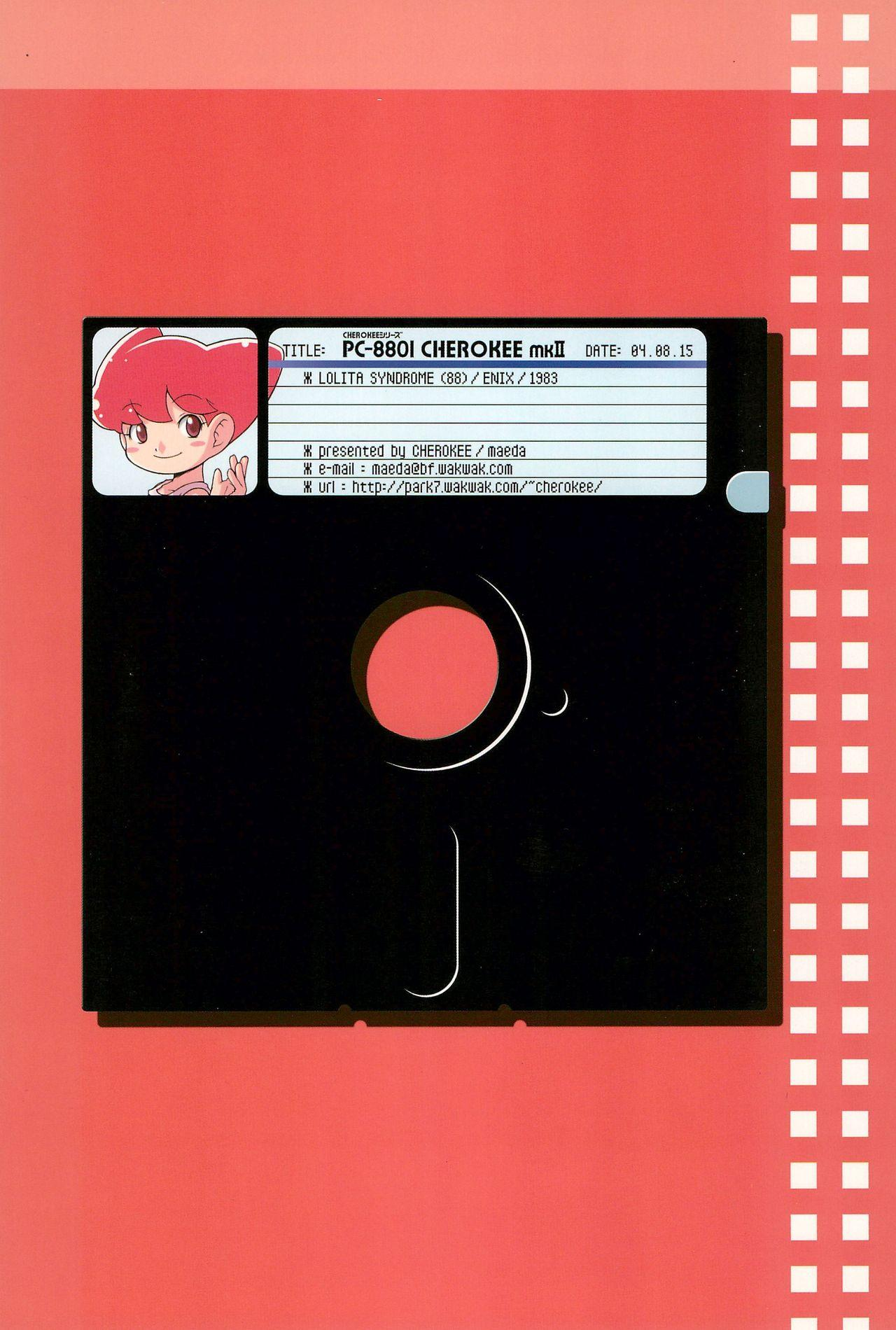 PC-8801 CHEROKEE mk2 23