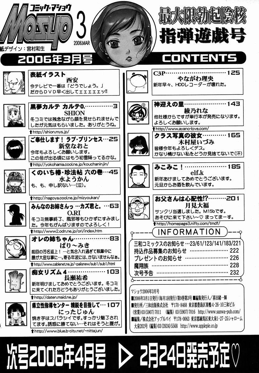 Comic Masyo 2006-03 233