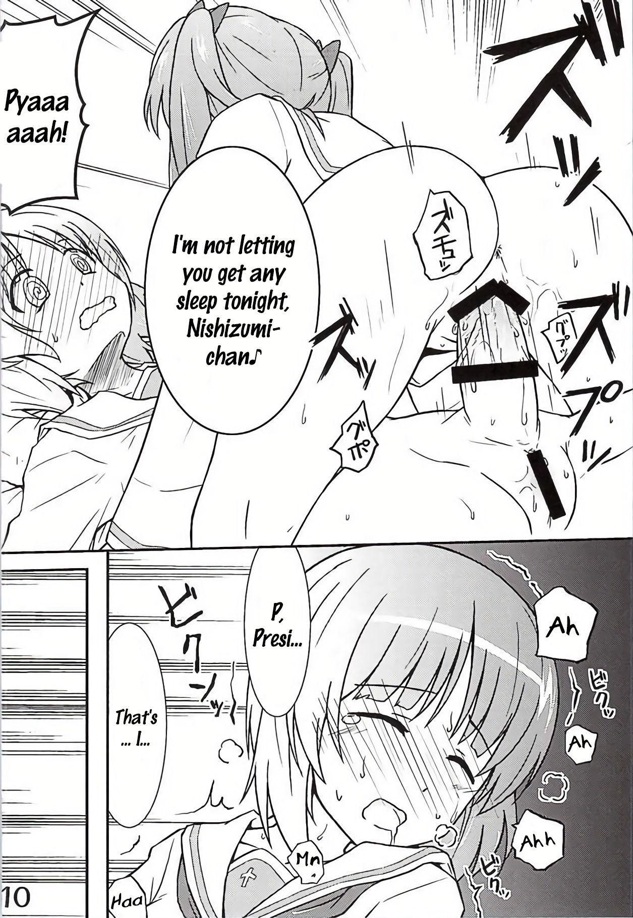 [Munak (Muuna)] Nishizumi-chan ni Chinchin o Tsukkomareru Yume o Mitanda | I dreamt about Nishizumi-chan thrusting her cock into me (Girls und Panzer) [English] [alalom] 6