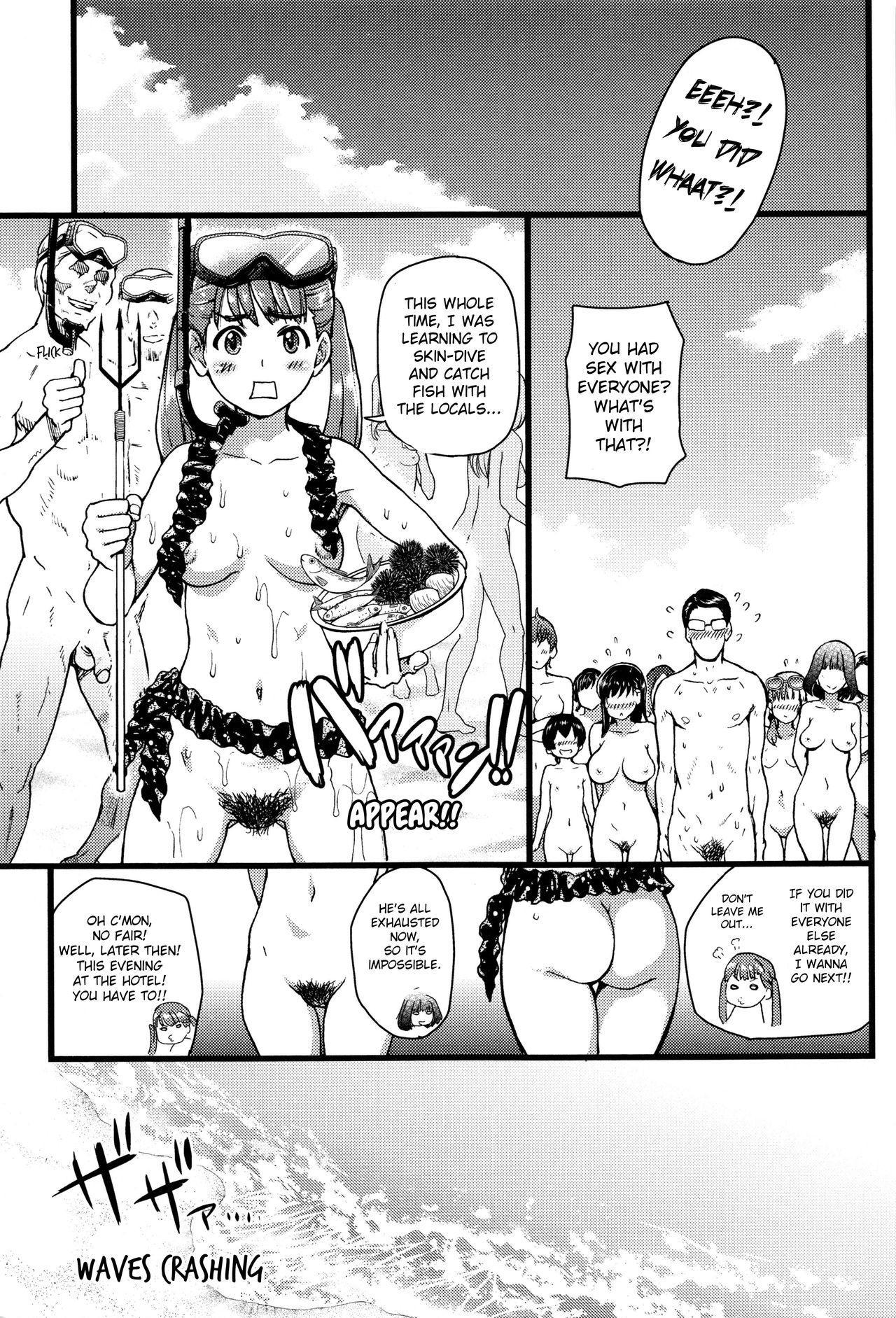 Nudist Beach ni Syuugaku Ryokoude!! - In school trip to the nudist beach!! 222
