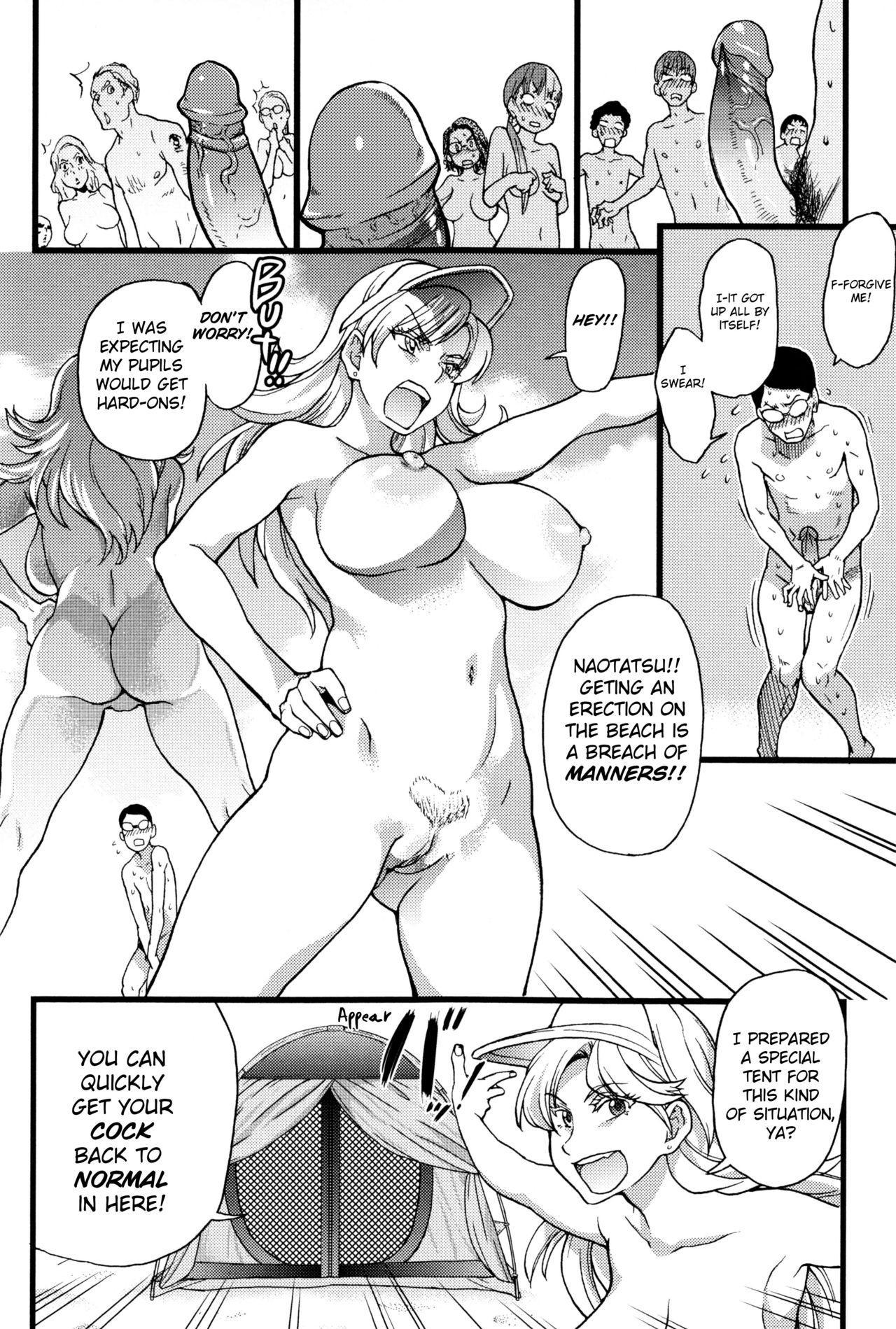 Nudist Beach ni Syuugaku Ryokoude!! - In school trip to the nudist beach!! 28