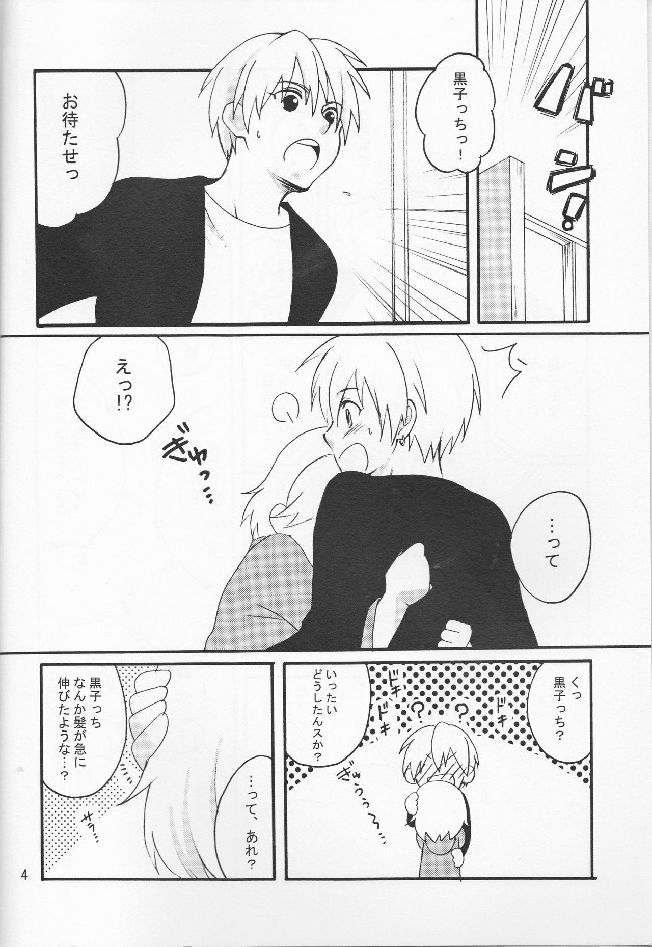 Ore no Kurokocchi ga Onnanoko ni Nacchattassu! 3