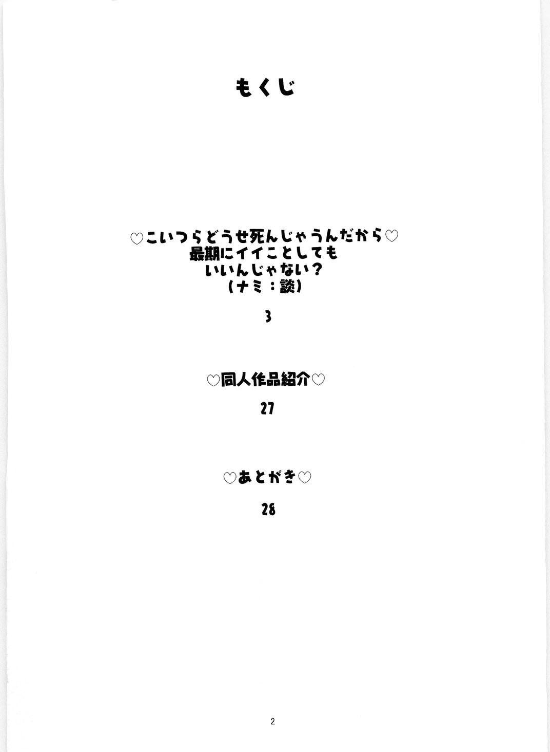 Nami no Koukai Nisshi Special 4 3