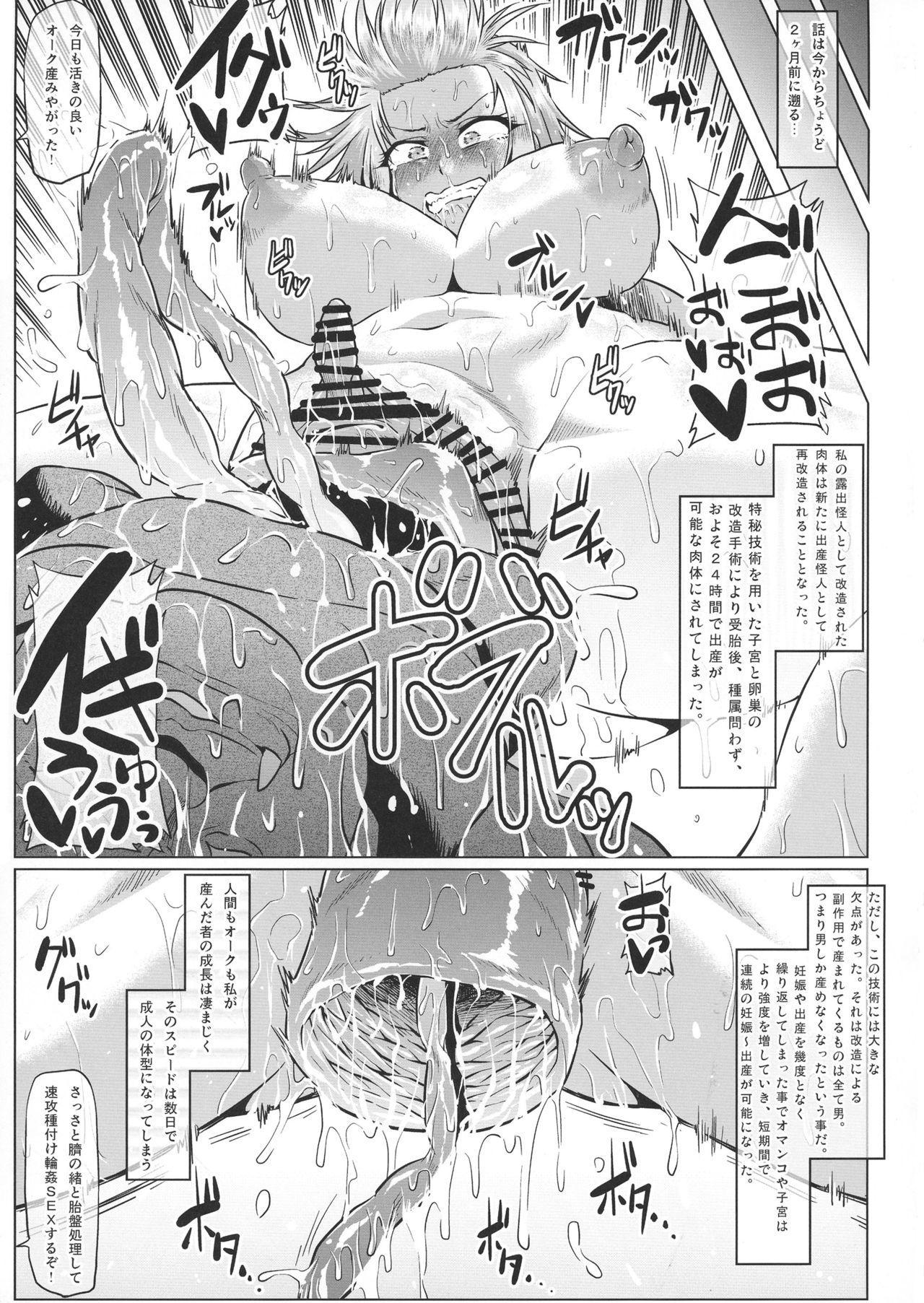 Roshutsu Kaijin Flasher Girl 8