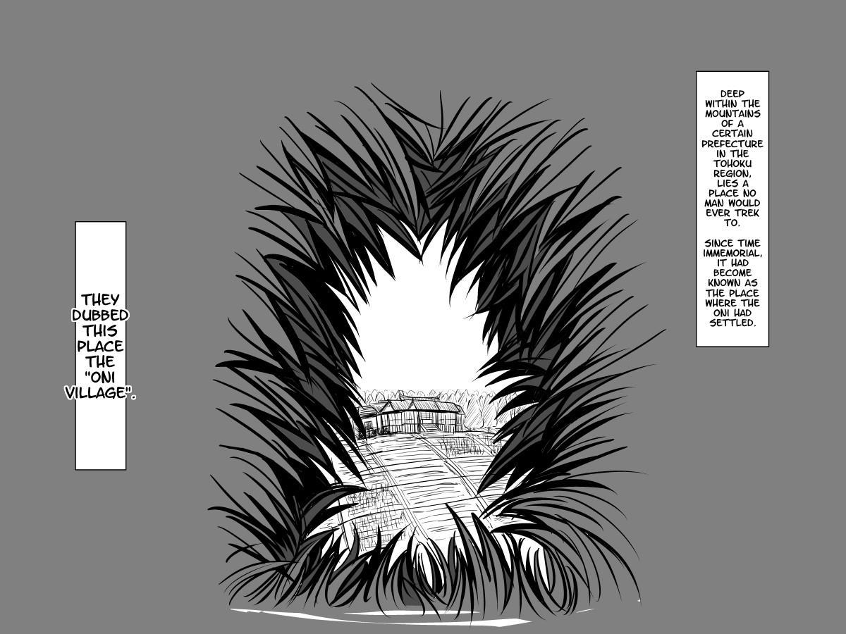 [Moonlight Diner] Oni no Sato no Ningen no Bouya ~Asaburo Hen~ | The Human Boy in the Oni Village ~Morning Bath Chapter~ [English] {Hennojin} 0