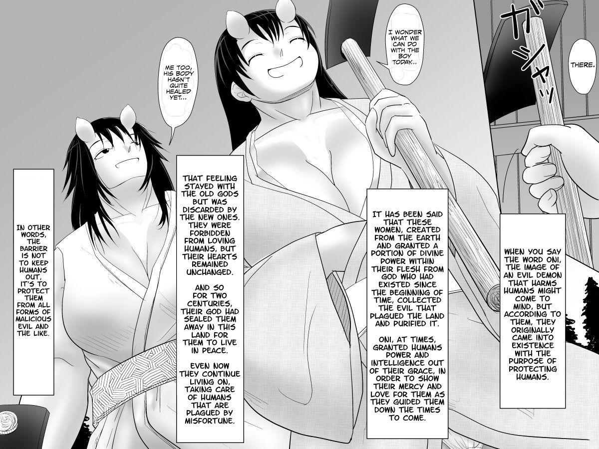 [Moonlight Diner] Oni no Sato no Ningen no Bouya ~Asaburo Hen~ | The Human Boy in the Oni Village ~Morning Bath Chapter~ [English] {Hennojin} 2