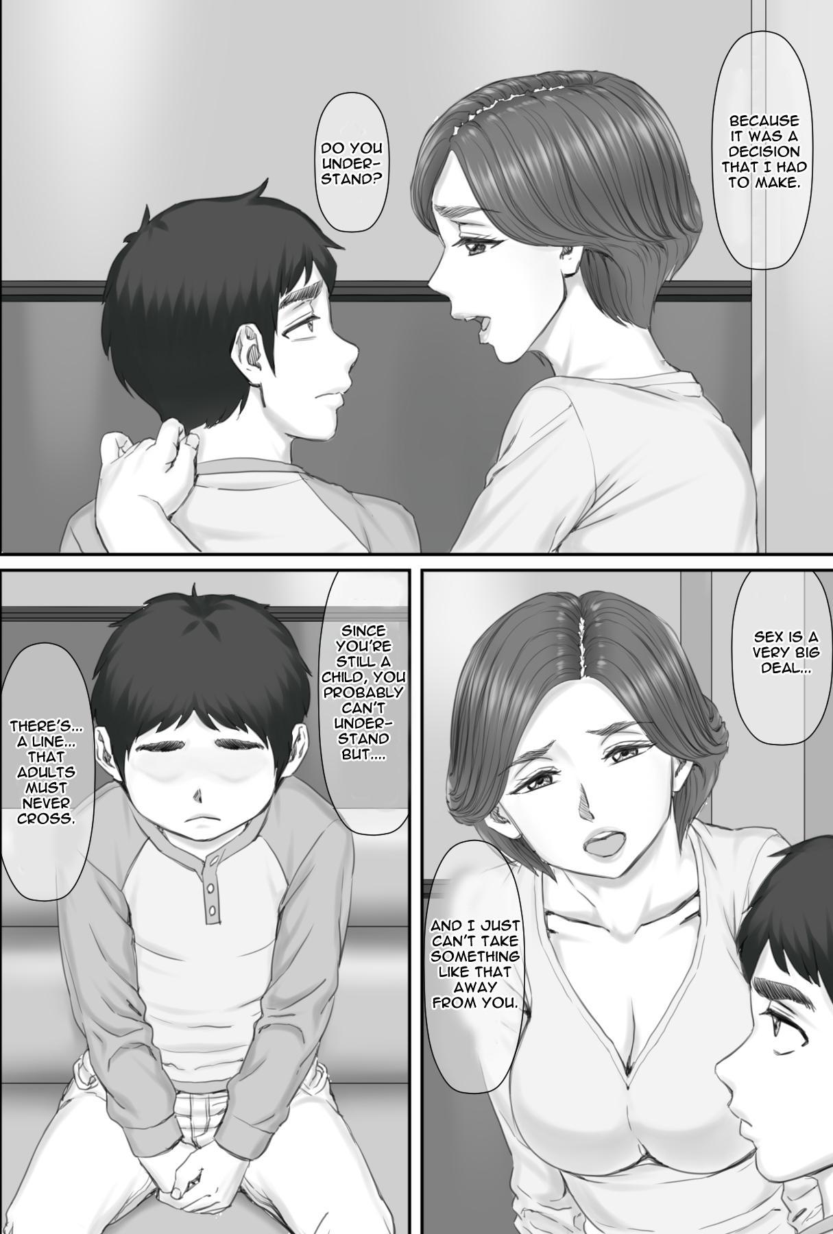 [Ponkotsu Damashii] Boku no Kanojo wa 40-sai no Hitozuma de Mama no Tomodachi | My Girlfriend is my mom's friend - A 40 year old housewife [English] [Jashinslayer] 45