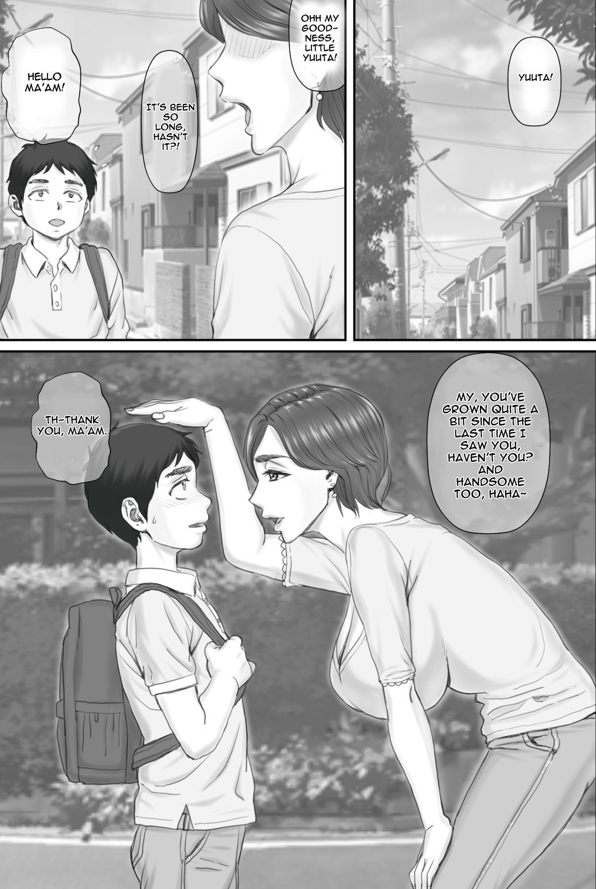 [Ponkotsu Damashii] Boku no Kanojo wa 40-sai no Hitozuma de Mama no Tomodachi | My Girlfriend is my mom's friend - A 40 year old housewife [English] [Jashinslayer] 6