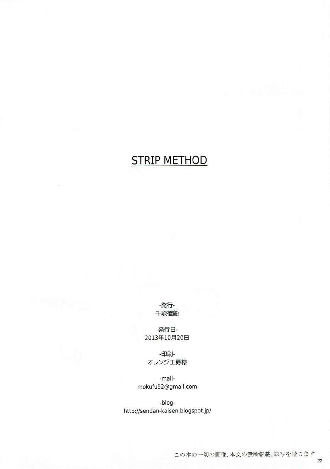STRIP METHOD 20