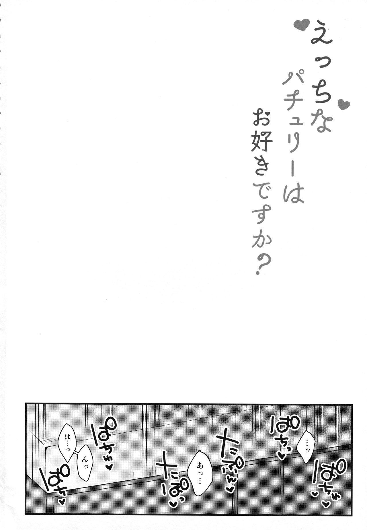 Ecchi na Patchouli wa Osuki desu ka? 2