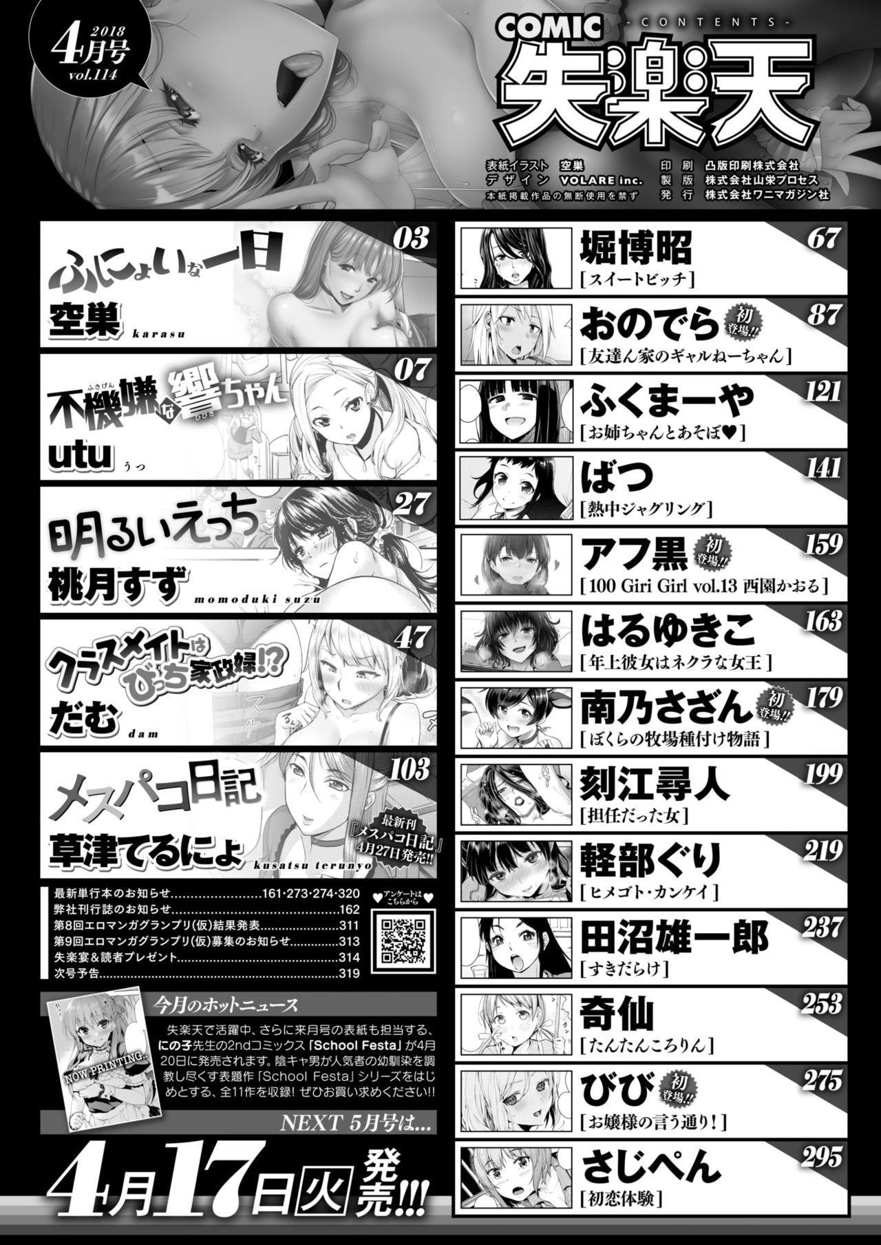 COMIC Shitsurakuten 2018-04 1