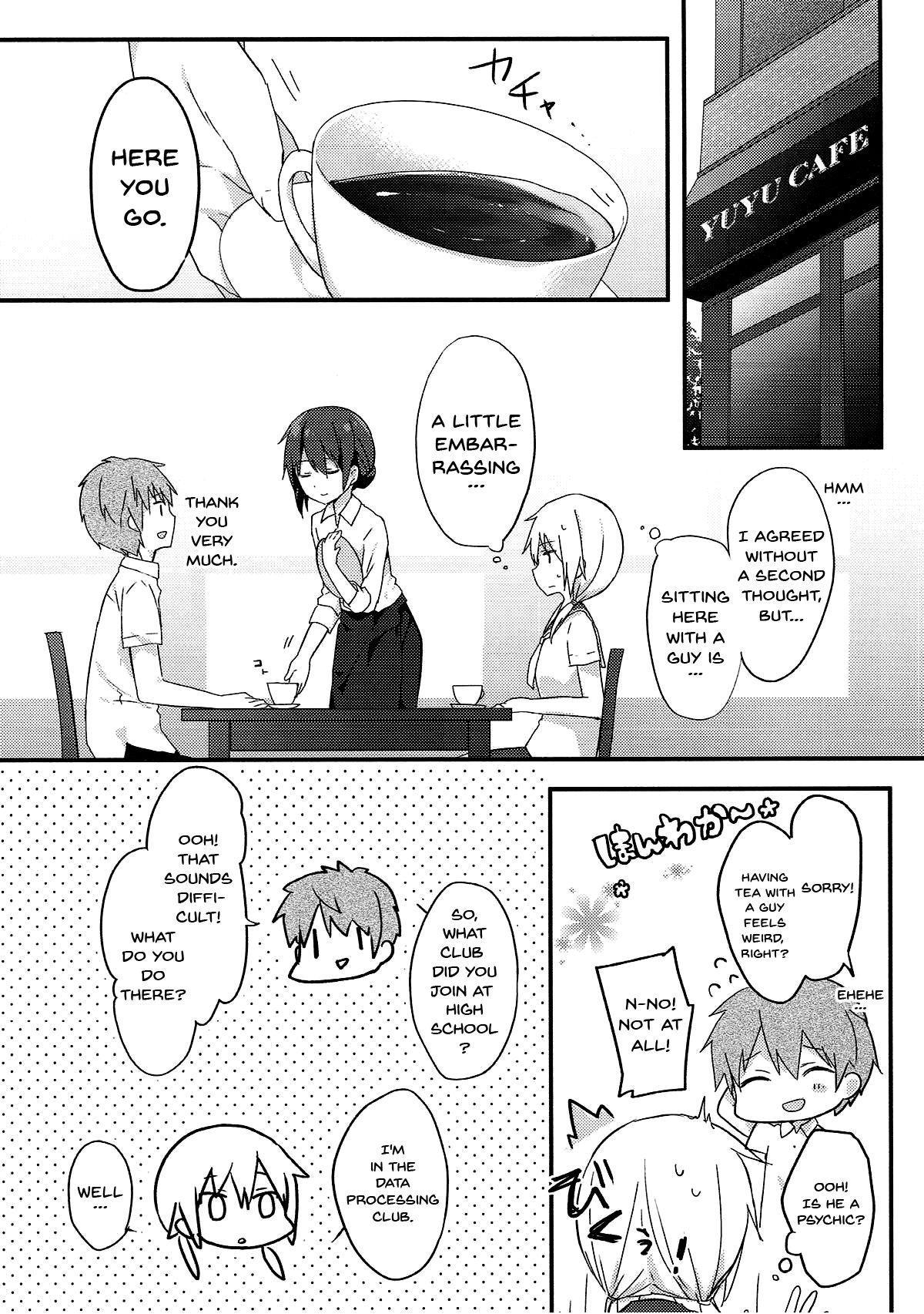 (SC2018 Spring) [Puchimaple (Hisagi)] Boku to Kodomo o Tsukurou ne, Ichii-san. | Have a baby with me, Ichii-san (Yuyushiki) [English] [Doujins.com] 4