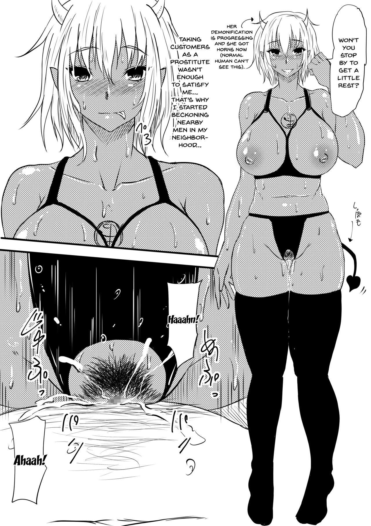 Akuma ni Tamashii o Utta haha ga Inma Bitch e to Henbo Shite iku Hanashi | A Story Where My Mom Turns Into a Bitch 34