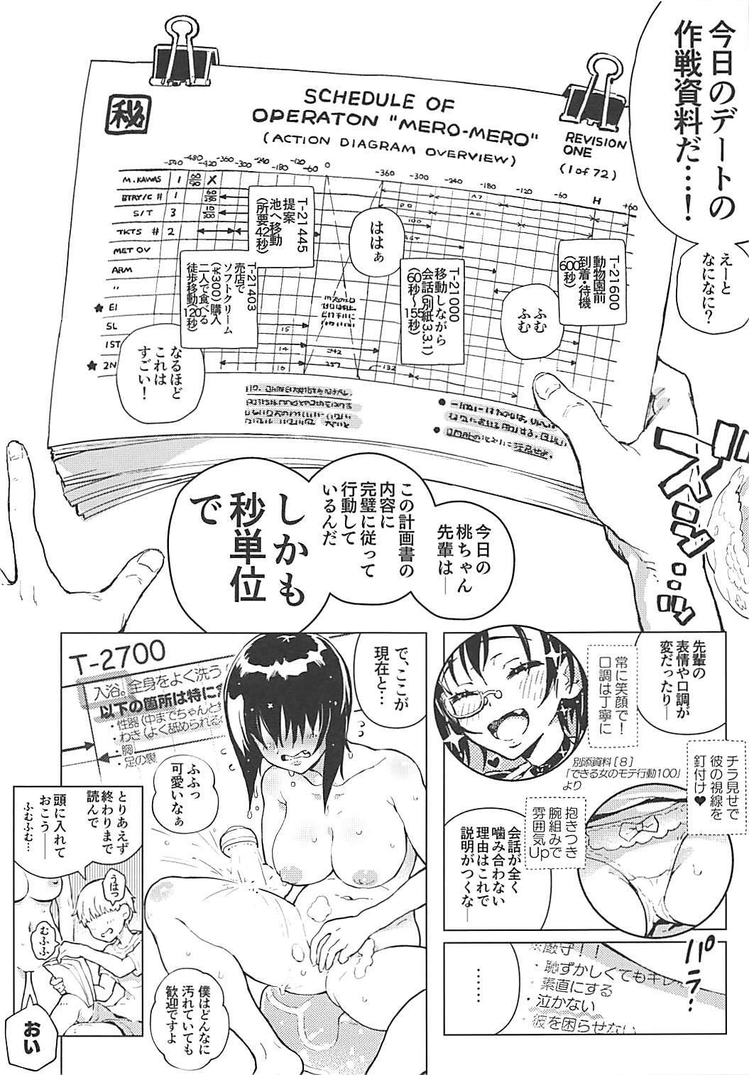 (Panzer Vor! 15) [Norinko] momon 2018-05 Hisshou Momo-chan Senpai no Perfect Date Plan (Girls und Panzer) 4