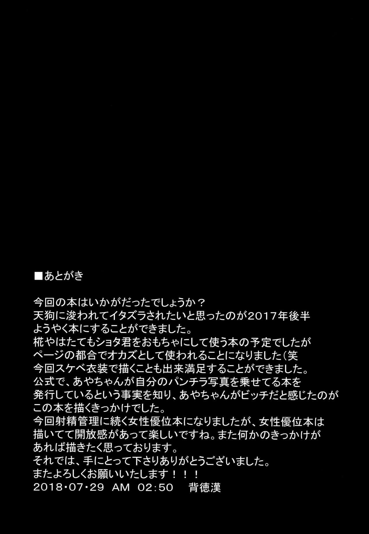 Nyotengu ni Yuukai Sarete Itazura Sareta Shota-kun no Kiroku 24