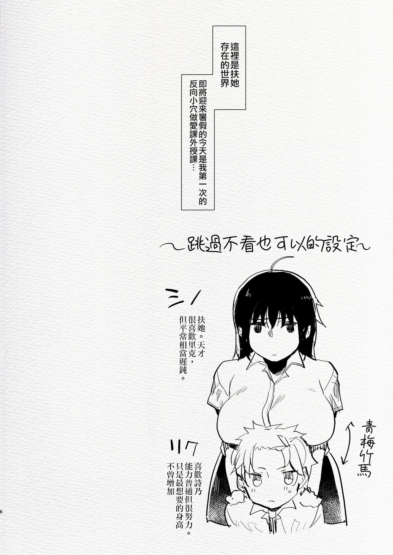 Futanari Osananajimi to Ore to Hajimete no Gyaku Anal Kagai Jugyou 丨扶她青梅竹馬和我第一次的反向小穴做愛課外授課 6
