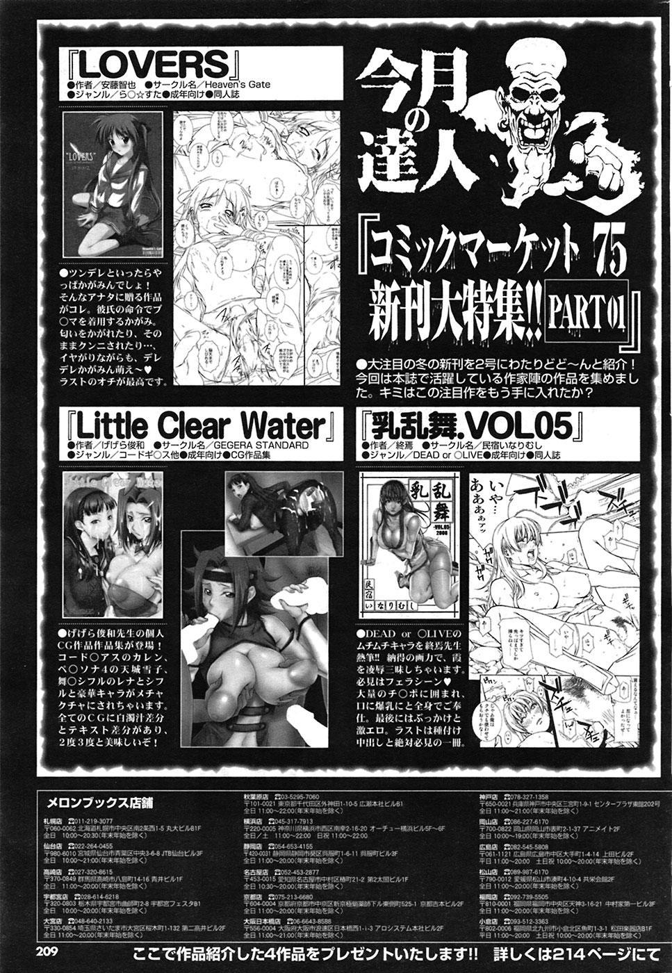 COMIC Purumelo [2009-03] Vol.27 207