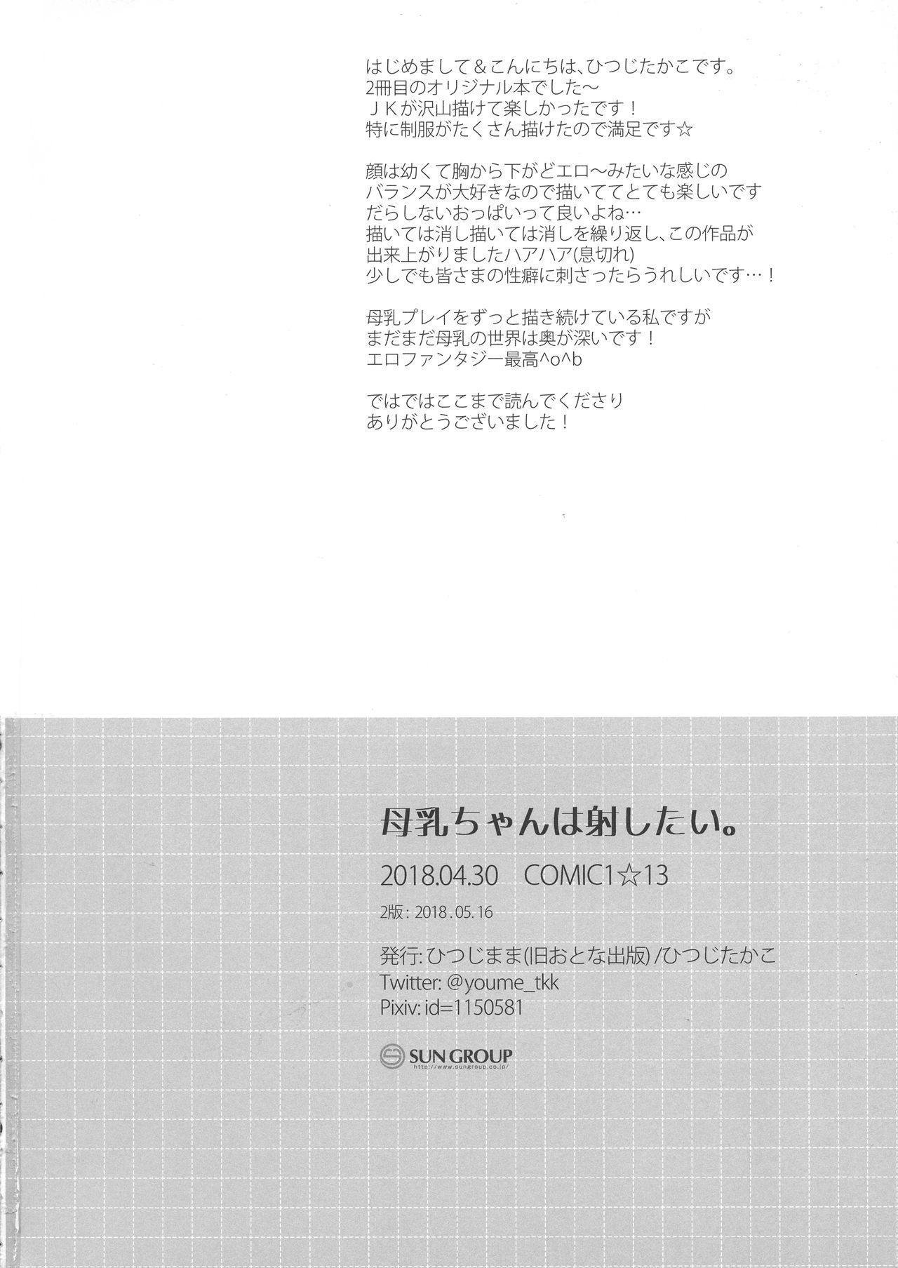 Bonyuu-chan wa Dashitai 29