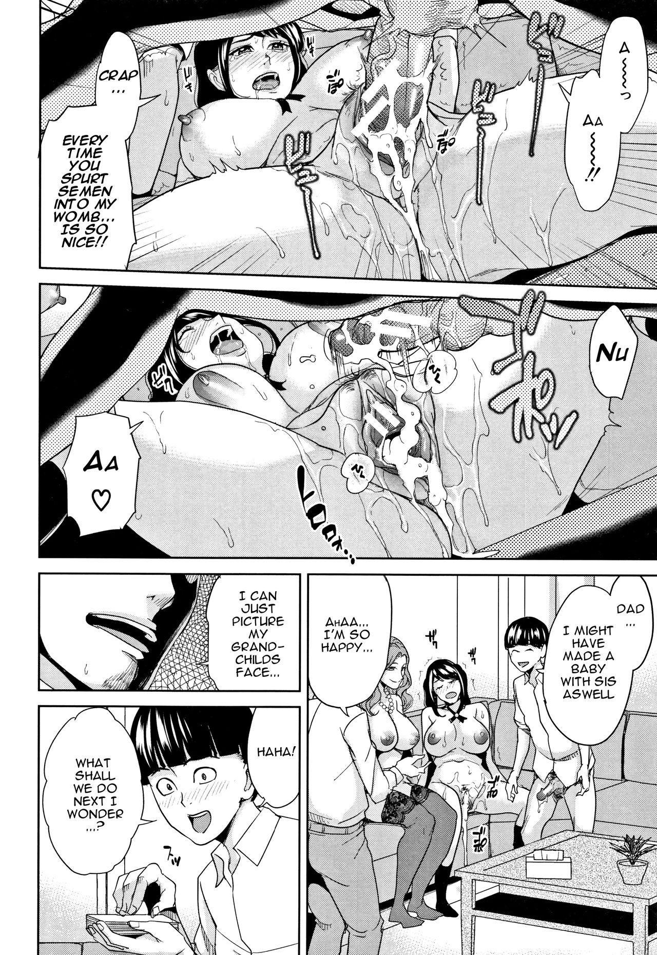 [Maimu-Maimu] Kazoku Soukan Game - family Incest game Ch. 1-3 [English] [Januz] 86
