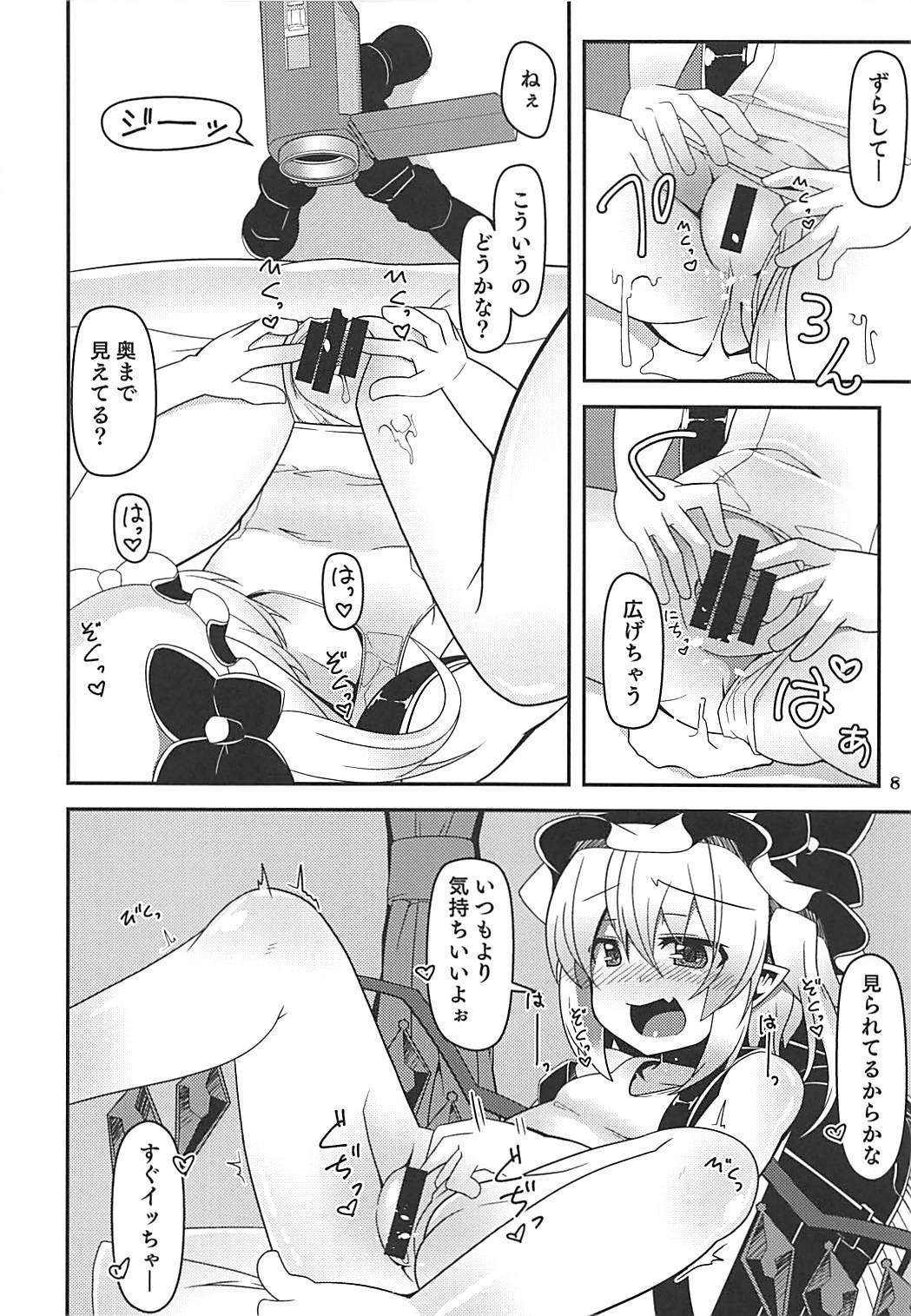 Flan-chan no Loli Bitch Haishin 6