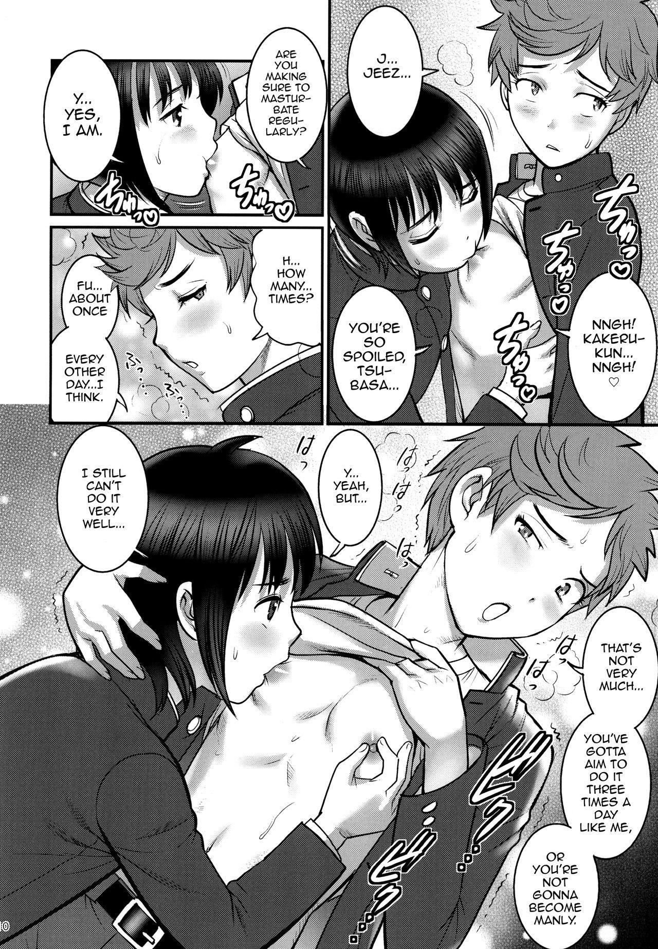 [Saigado (Saigado)] Tsubasa-kun to Kakeru-kun [English] [mysterymeat3] [Digital] 8