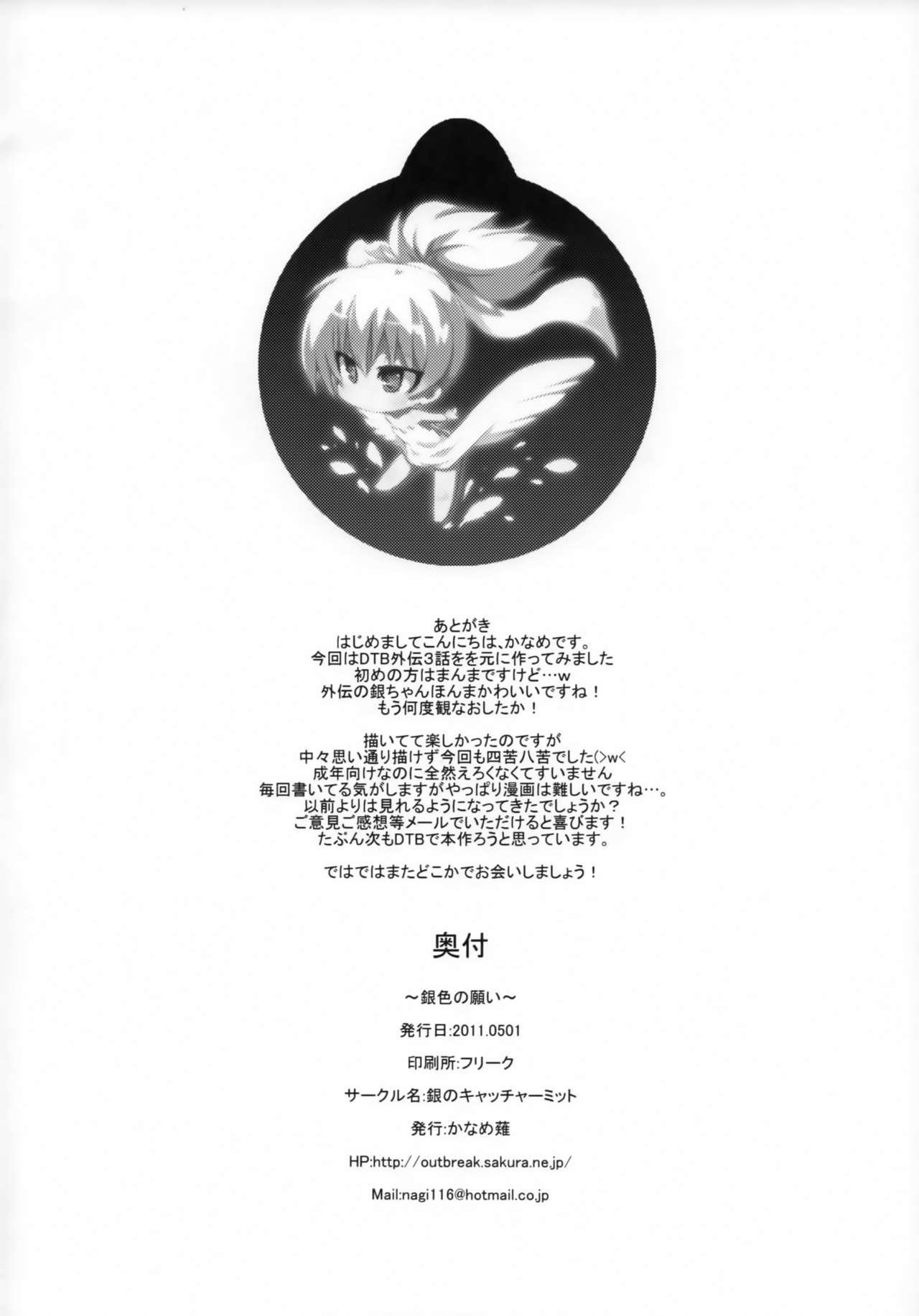 (COMIC1☆5) [Catcher's mitt of silver (Kaname Nagi)] ~Giniro no Negai~ (DARKER THAN BLACK) 16