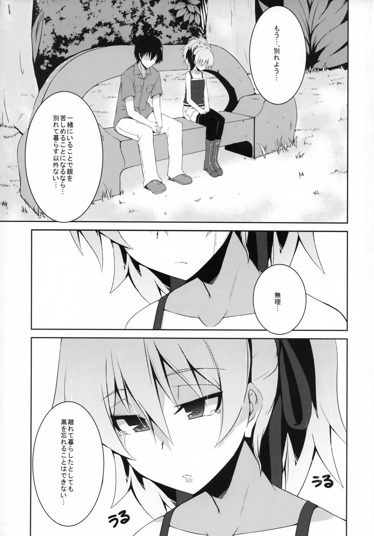 (COMIC1☆5) [Catcher's mitt of silver (Kaname Nagi)] ~Giniro no Negai~ (DARKER THAN BLACK) 1