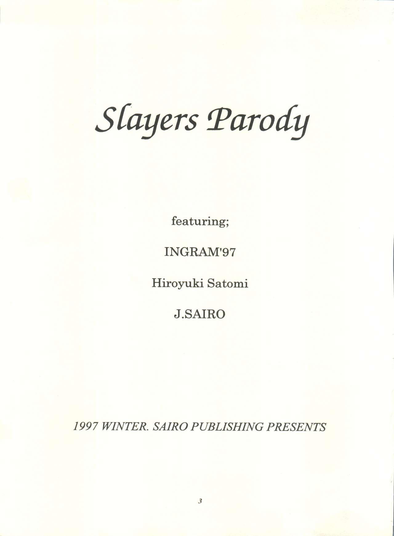 Slayers Parody 2